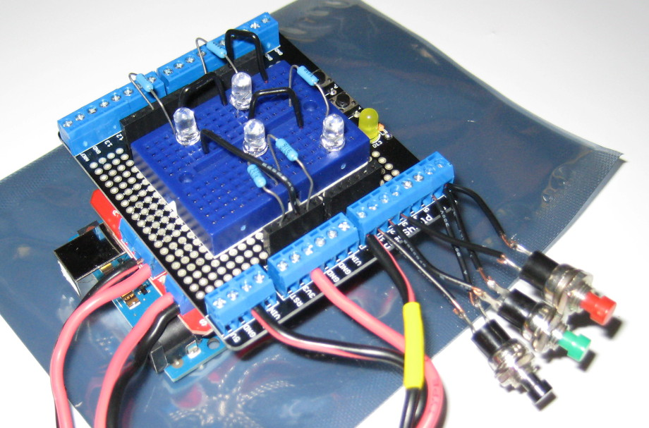 Digital Rotator Controller for Arduino (Using K3NG Firmware)